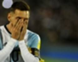 Messi found 'crying like his mother had died' after Copa America penalty shoot-out heartache
