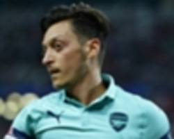 video: a refreshed ozil and in-form monreal - emery prepares for newcastle game
