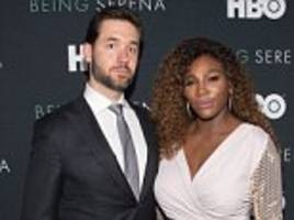 Serena Williams's husband calls controversial Australian cartoon of star 'racist' and 'misogynistic'