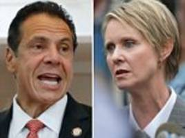 cuomo defeats nixon in new york gubernatorial primary
