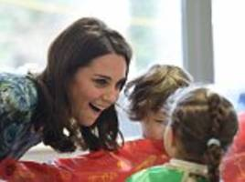 duchess of cambridge launches first solo charity campaign to help disadvantaged children