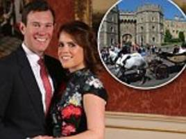 eugenie and jack announced updated wedding plans