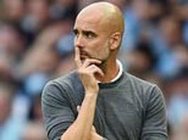 manchester city boss pep guardiola is eyeing an international future... but not with spain