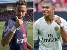 real madrid will land either mbappe or neymar next summer… but which will they pick?