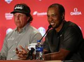 tommy fleetwood insists europe will not daunted by tiger woods and phil mickelson at ryder cup