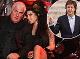amy winehouse's dad mitch slams paul mccartney's 'ridiculous' claims he could have saved late singer
