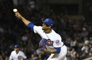 cubs reliever pedro strop to miss rest of regular season