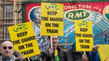 northern and south western rail networks hit by strikes