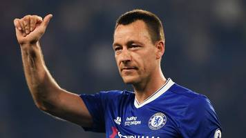 John Terry: Chelsea boss Maurizio Sarri open to coaching role for ex-captain