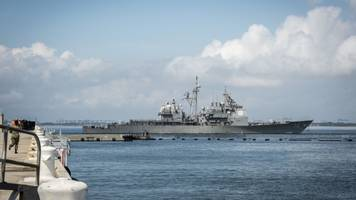 as hurricane florence rolls in, the navy ships out