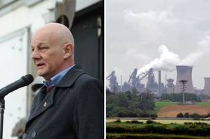 Steel union chairman says biggest British Steel job cuts will come at Scunthorpe site