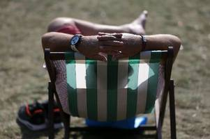 kent weather: kent set to bake in temperatures of up to 27c after a warm weekend