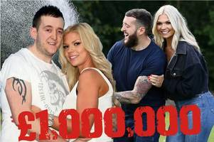 Britain's 'luckiest man' wins £1m on Lottery after scooping 'Punching' prize thanks to stunning wife