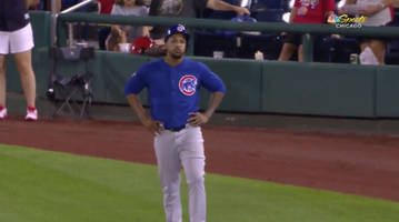 cubs closer pedro strop injures hamstring running to first base in 10th inning