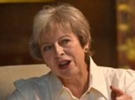 Theresa May slaps down 'inappropriate' Boris Johnson over suicide vest comments