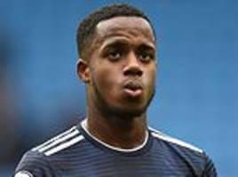 ryan sessegnon thrown in the deep end at man city