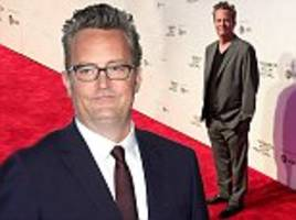 friends star matthew perry secretly spent three months in hospital