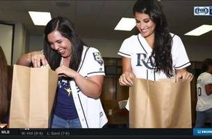 rays team up with feeding tampa bay on roberto clemente day