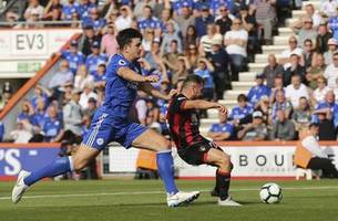 fraser double inspires bournemouth to 4-2 win over leicester
