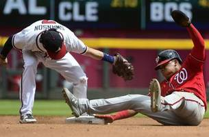 soto becomes youngest player to steal 3 bases in a game