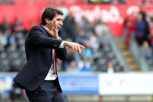 aitor karanka gives his verdict on nottingham forest's dominant display at swansea city