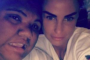 katie price fears for harvey as her 'terminally ill mum can no longer help with his care'
