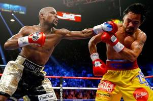 floyd mayweather claims he will rematch great rival manny pacquiao