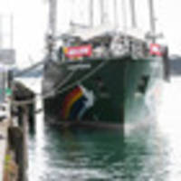 Rainbow Warrior open to public during Auckland stopover