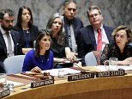 US calls UN meeting on undermining North Korea sanctions made by Russia