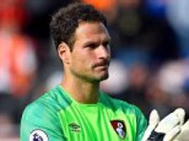 bournemouth's front three are 'up there with liverpool's', claims goalkeeper asmir begovic