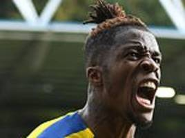kouyate praises zaha after 'unbelievable' goal secured victory for crystal palace