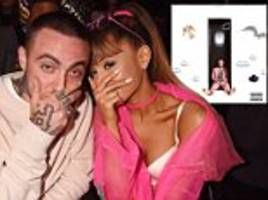 ariana grande shares mac miller song ladders day after posting tender tribute to her now deceased ex