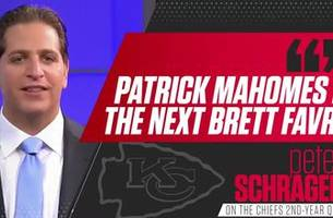 peter schrager: 'patrick mahomes is the next brett favre'