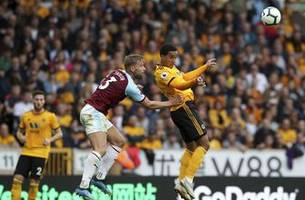 wolves add to burnley's premier league troubles with 1-0 win
