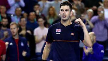 Davis Cup: Cameron Norrie wins to give GB victory over Uzbekistan in Glasgow