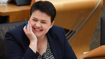 Ruth Davidson: 'I value mental health over being PM'