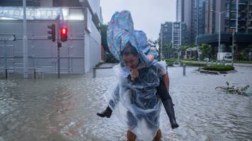 typhoon mangkhut: hong kong latest to face storm