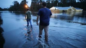 Storm Florence: Worst still to come, authorities warn