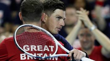 davis cup: great britain beat uzbekistan after cameron norrie wins in singles
