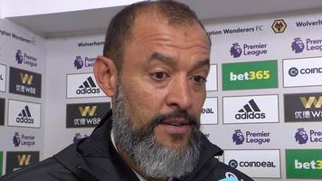 wolves 1-0 burnley: nuno 'very satisfied' with tough win over burnley