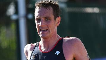alistair brownlee disqualified in australia as mario mola wins triathlon title