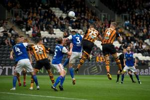 hull city landed vital win but it was a good job they played ipswich town
