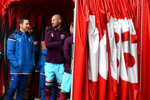 ex-west ham defender james collins 'in contact with stoke city'