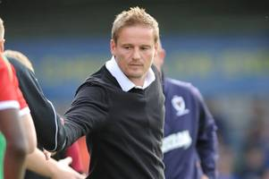 neal ardley angry and disappointed at goals conceded to scunthorpe united