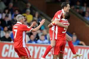 scunthorpe united showed character to get the three points