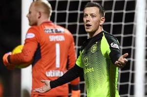 callum mcgregor vows celtic will take domestic frustration out on rosenborg in europa league