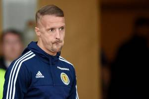 celtic star leigh griffiths admits shock at alex mcleish's striker decision