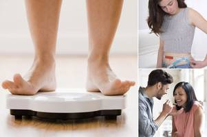 moments in your life when you are most prone to putting on weight
