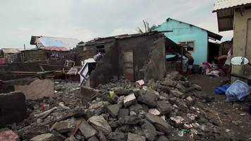 philippines typhoon mangkhut: destruction in aparri