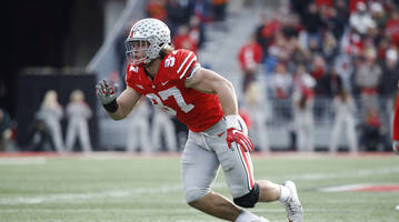 Ohio State's Nick Bosa Exits Game vs. TCU With Apparent Groin Injury